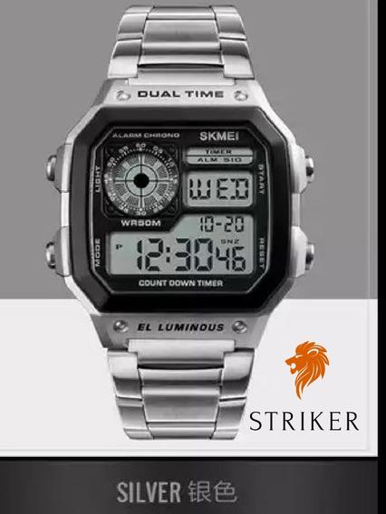 Relógio Super Elegante Marca Skmei Com Frete Grátis