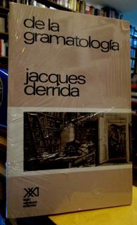 Jaques Derrida De La Gramatologia