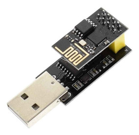 Adaptador Usb Para Modulo Wifi Esp-01 + Esp8266 Esp01