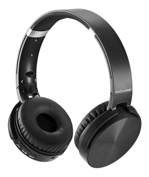 Headphone Premium Bluetooth Sd Aux Fm Multilaser Ph264