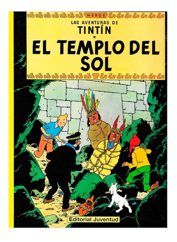 Tintin - El Templo Del Sol - Juventud - Tapa Dura - Herge