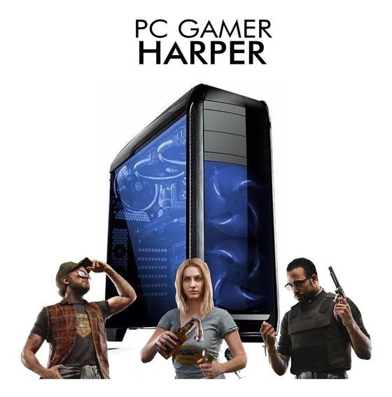 Pc Gamer Harper - Intel Pentium G5400, Gtx 1050 2gb, 1tb 8gb