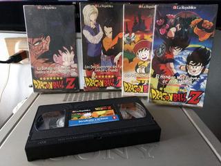 Dragon Ball Z 4 Vhs Coleccion De La República Buen Estado