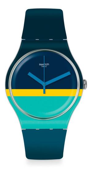 Relógio Swatch Mentheure Unissex Suow154