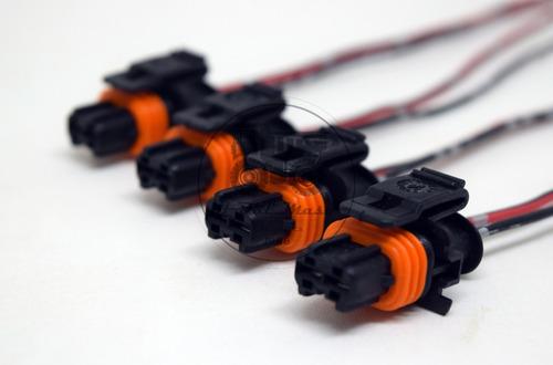Imagem 1 de 5 de 4x Chicote Conector Plug Bico Injetor Diesel Ducato Boxer