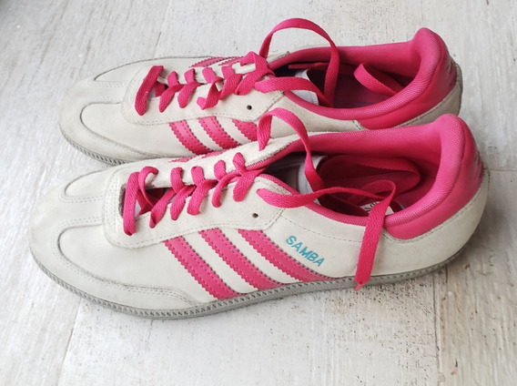Zapatillas adidas Originales Samba Mujer -2 Usos- Arg 39,5
