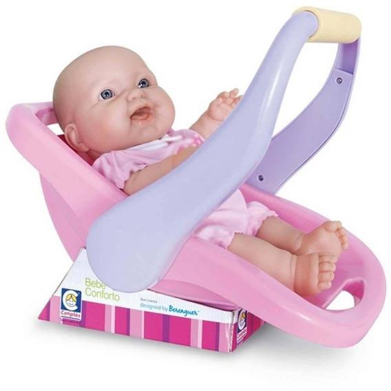 Boneca Com Bebê Conforto La New Born Cotiplas