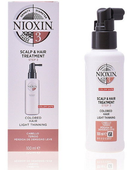 Nioxin Scalp Treatment 3 Leave-in 100ml - Oferta Especial