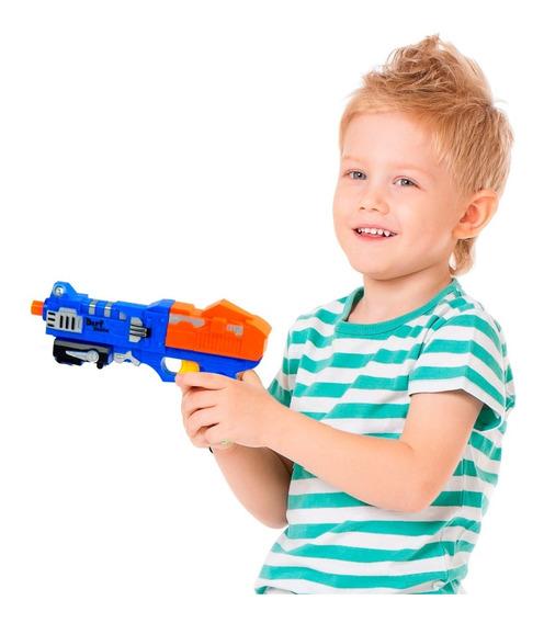 Pistola De Brinquedo Infantil Estilo Nerf Com Alvos