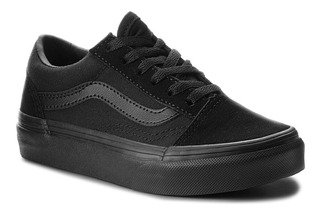 Vans Old Skool Black Black Infantil