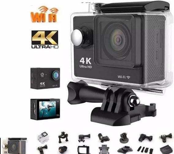 Câmera Sport 4k Ultra Hd Wi-fi Controle Remoto 1080p - 60fps