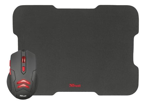 Mauser Gamer Barato Usb Led 3000dpi + Mouse Pad