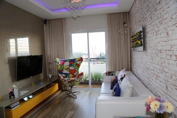 Apartamento Com 2 Dormitórios À Venda, 65 M² - Jardim Das Indústrias - São José Dos Campos/sp - Ap5488