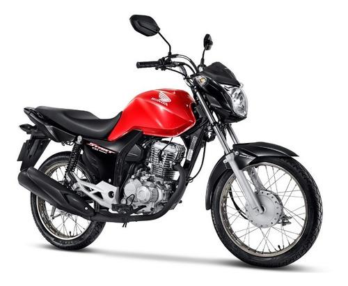 Imagem 1 de 12 de Honda Cg 160 Start 2022 - Vermelho
