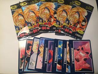 5 Sobres Tarjetas Dragon Ball Z Hero Collection Part 4 (+ 8)