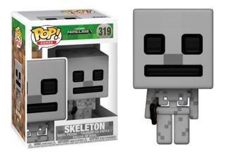 Funko Pop! Skeleton 319 - Minecraft Muñeco Original
