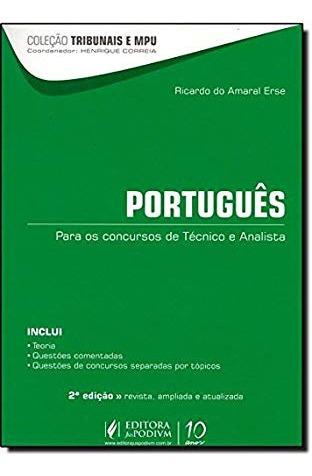 Col. Tribunais E Mpu - Portugues Para Os Ricardo Do Amaral