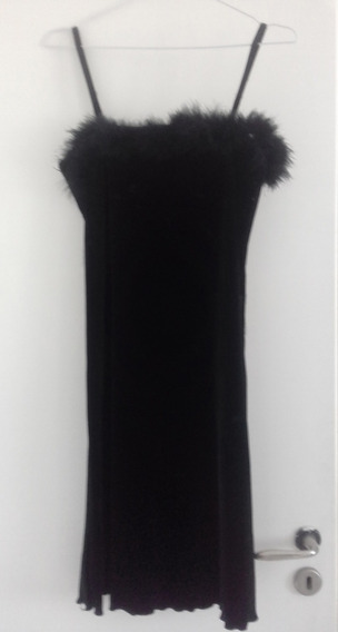 Vestido Negro Corto - Fiesta - Talle M