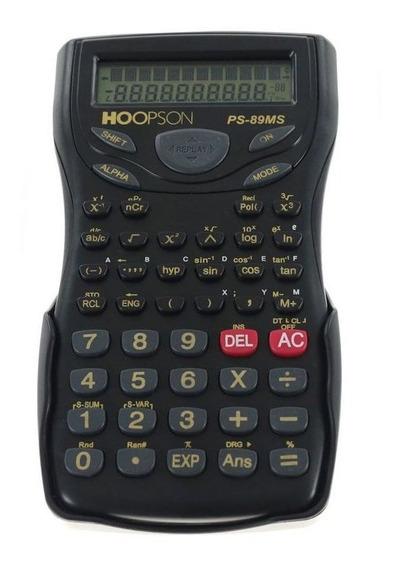 Calculadora Científica Hoopson C/ 240 Funções - Ps-89ms