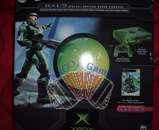 Microsoft Xbox Clásica Halo + Halo 2 + 2 Controles + Extras