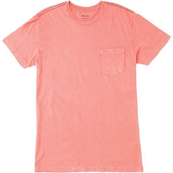 Remera M/c Rvca Ptc 2 Pigment Pink Hombre M3910ptc
