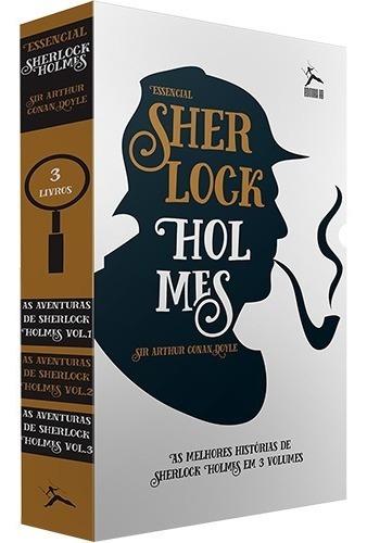As Melhores Histórias De Sherlock Holmes Em 3 Volumes Box