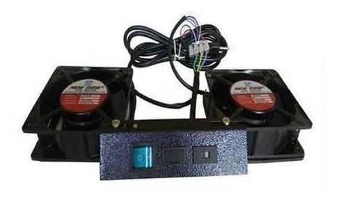 Imagem 1 de 2 de Kit De Ventilação Universal Para Racks 19 Polegadas