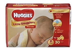 Huggies Pañales Suaves Cuidado Bebes Prematuros Tamaño P 3