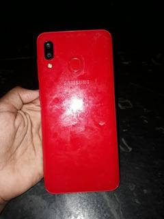 Celular Samsung Galaxy A20 S Três Câmeras 64gb
