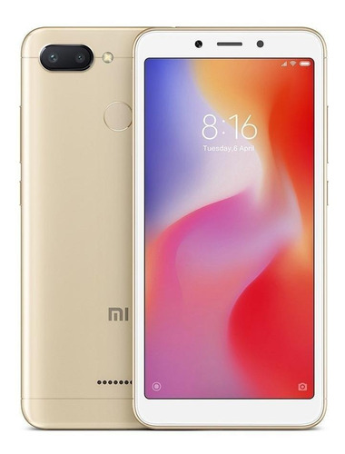 Celular Xiaomi Redmi 6 32gb Rom Global