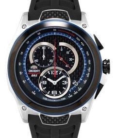 Relógio Orient Masculino Chronograph Kt00002b P1px - ( Nfe )