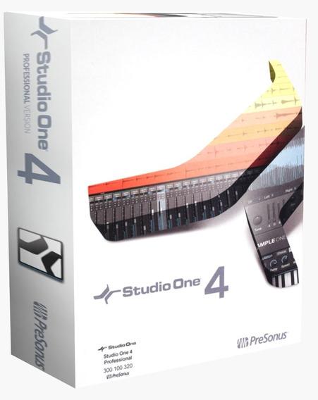 Studio One Pro 4 2020 + Todo El Contenido Win Online!
