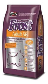 Ração Super Premium Frost Adulto Sb 14 Kg Raças Pequenas