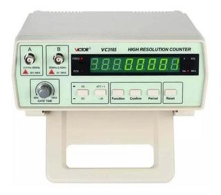 Frequencímetro Digital Bancada Profissional 10hz A 2,4ghz