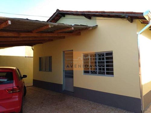 Imagem 1 de 30 de Casa Com 3 Dormitórios À Venda, 70 M² Por R$ 285.000,00 - São José - Paulínia/sp - Ca1273