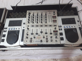 Cdj 200 Mixer Denon E Cdj100 Mixer Beringerdjx700casefolconi
