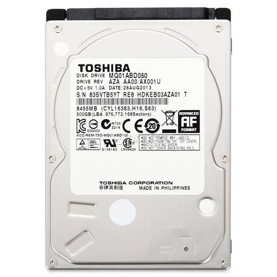 Hd Notebook 500gb Sata Toshiba/wd/seaga Novo 0 Hora Lacrado