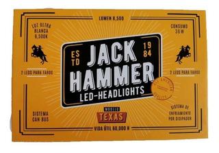 Juego De Luces Led Jack Hammer Dos Pasos H13 Kit Automotriz