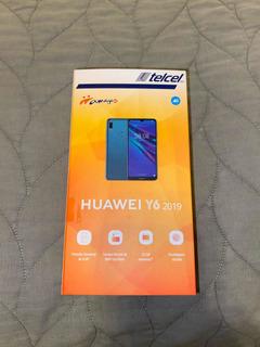 Huawei Y6 2019 Nuevo. Telcel.