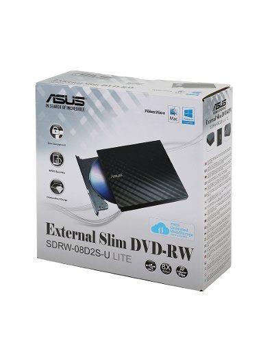 Gravador Externo Cd/dvd Portatil Asus Slim Windows Mac