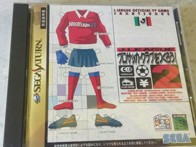 J.league 2 Sega Saturn Original Jp
