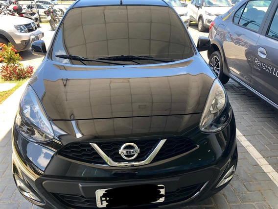 Nissan March 1.6 16v Sl Aut 2018/2018 Preto