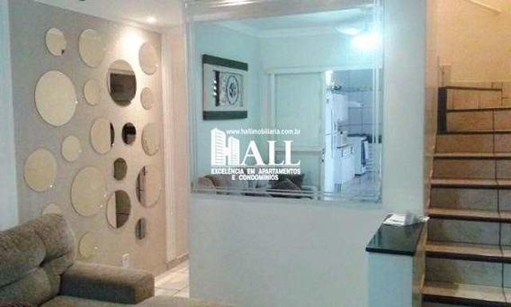 Casa De Condomínio Com 3 Dorms, Vila Borguese, São José Do Rio Preto - R$ 238.000,00, 71m² - Codigo: 2646 - V2646