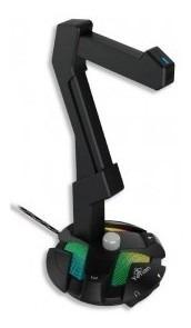 Base Headset Yeyian Yao-29201n Rgb 2 Usb2.0 Mic Equalizador