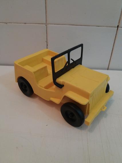 Jeep Plástico 18x10 Cm Duro Da Atma
