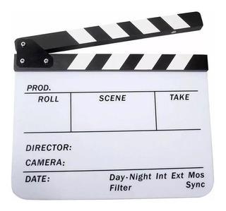 Claqueta Para Cine Y Grabación