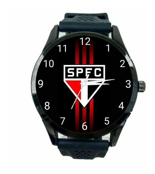 Relógio São Paulo Feminino Futebol Esporte Tricolor Fc T179