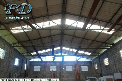 Imagem 1 de 12 de Galpões Industriais À Venda  Em Mairiporã/sp - Compre O Seu Galpões Industriais Aqui! - 1137601