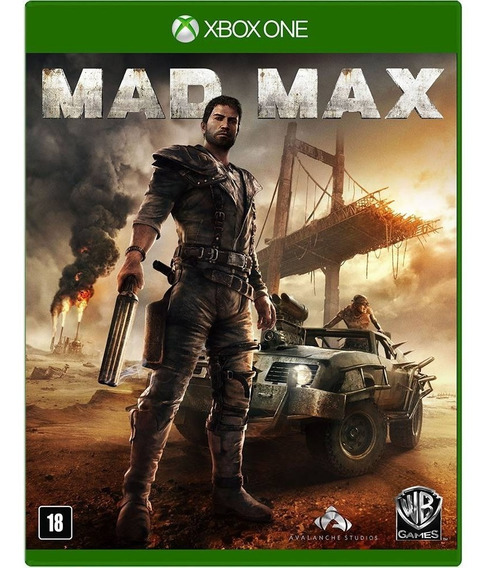 Mad Max, Xbox One, Novo, Lacrado, Mídia Física.
