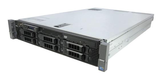 Servidor Dell Poweredge R710 Quadcore 16gb Ddr3 300gb Sas
